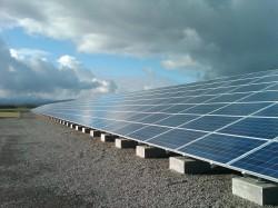 large solar array