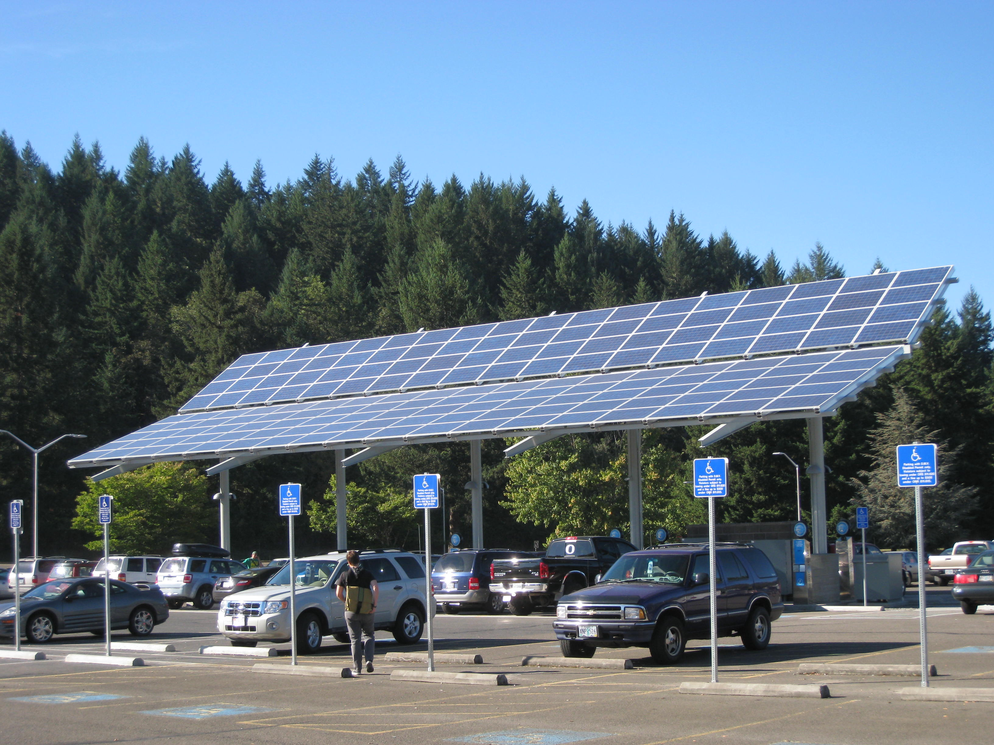 LCC Solar Powered Vehicle Charging Station | Energy Design